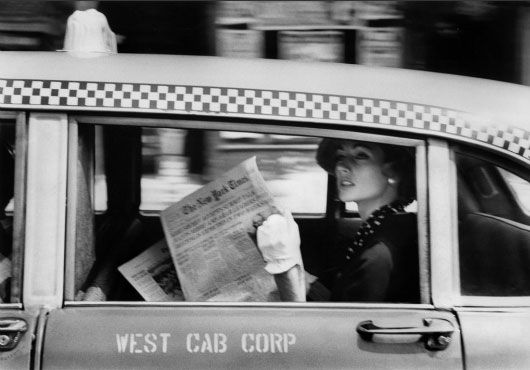 Photo: Robert Frank. From the book New York Is (1958).