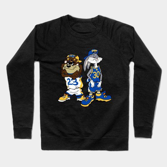 Looney Warriors Crewneck Sweatshirt