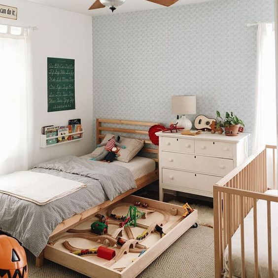 7 Things You Can Do With the Space Under a Kid's Bed
