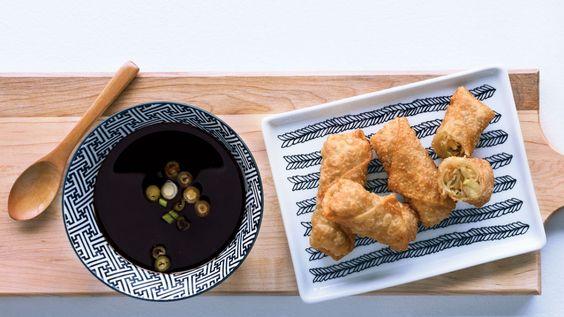 Une recette de rouleaux impériaux végétariens au tofu de Janella, présentée sur Zeste et Zeste.tv.