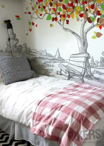 Decoraci n de dormitorios con fotomurales fotomurales - Decorar con fotomurales ...