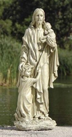 Jesus With Children Outdoor Garden Statuesweet gardening