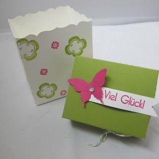 Claudinchens-kreative-Seite: Nette Idee der Box einen Deckel zu geben :-)