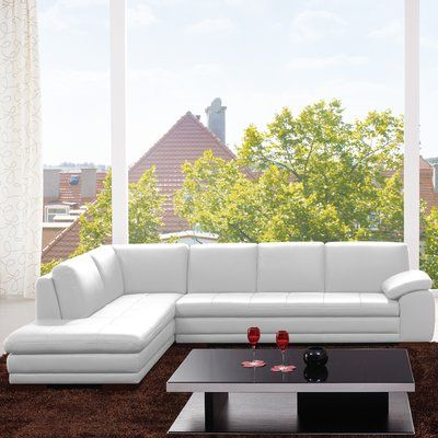 Mercury Row Brosnan Symmetrical Sectional Sectional Sofa Cool Couches Sectional Ottoman
