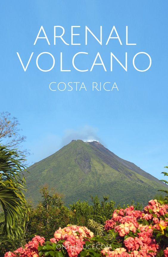 Lo que hay que hacer en la ciudad de Arenal en Costa Rica, con el montar a caballo, aguas termales, barranquismo y tirolesa en la sombra del Volcán Arenal.: