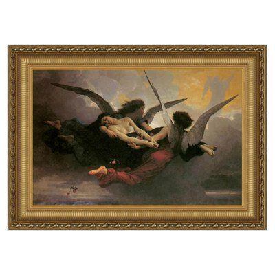 Basil Street Gallery DA248 A Soul Brought to Heaven, 1878 Framed Art