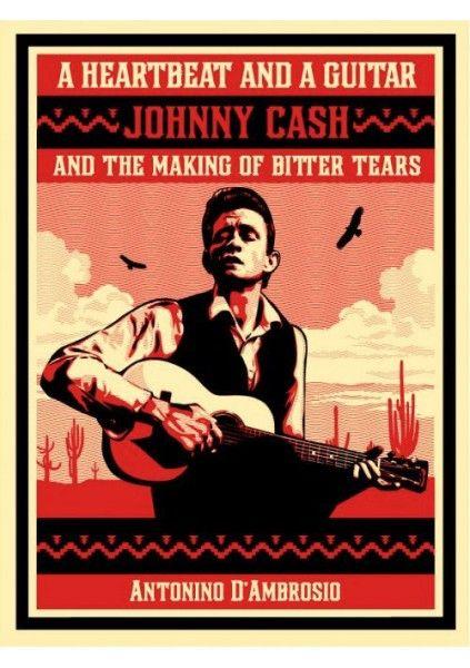 Johnny Cash Sérigraphie 2 couleurs sur papier Edition limitée à 450ex 46x61cm - numerotee et signee Vendue avec certificat d'authenticité 400€ http://bit.ly/1D0pZef