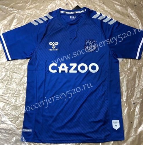 2020 2021 Everton Home Blue Thailand Soccer Jersey Aaa 503 In 2020 Soccer Jersey Everton Football Sweater