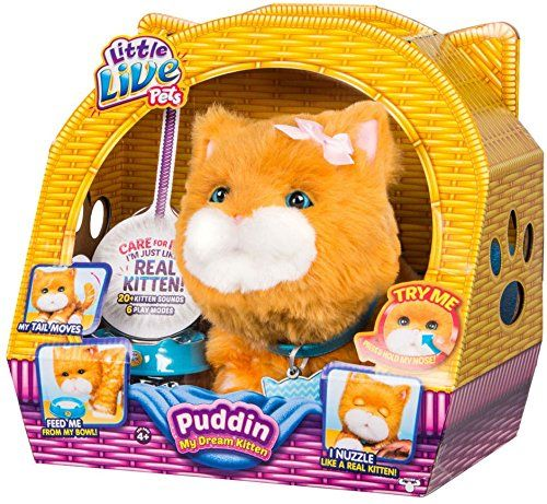Little Live Pets Little Live Pets Puddin My Dream Kitten To View Better For This Item Visit The Image We Little Girl Toys Little Live Pets Kids Toy Shop