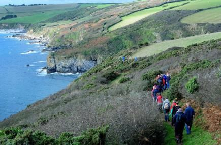 Cornwall's 300 mile section of The South West Coast Path offers plenty of gentle stretches as well as dramatic headlands, steep coastal valleys, sheltered estuaries, busy harbours, intimate coves, moorlands and sandy beaches.