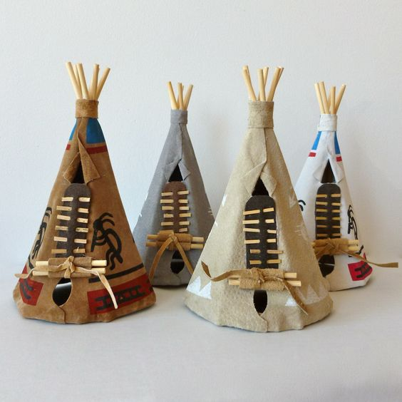 teepees thanksgiving crafts and craft ideas on pinterest. Black Bedroom Furniture Sets. Home Design Ideas