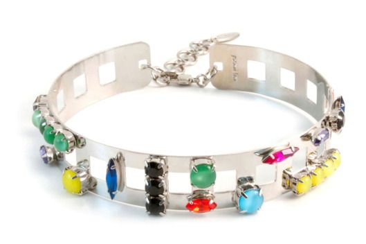 The '90s Choker Is Back With a Vengeance -- Joomi Lim Candy Crush Neck Cuff