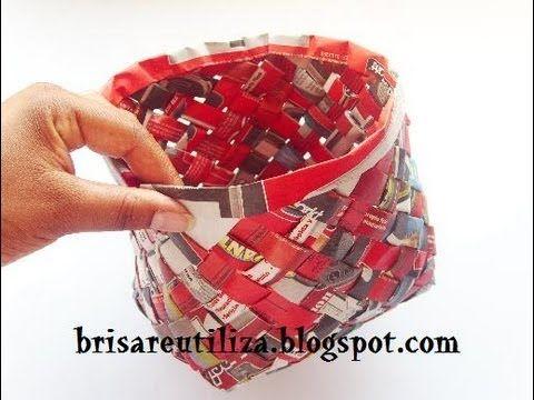 Inspiraciones manualidades y reciclaje recopilaci n de - Manualidades de papel reciclado ...