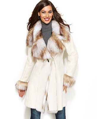 how to clean faux fur coat