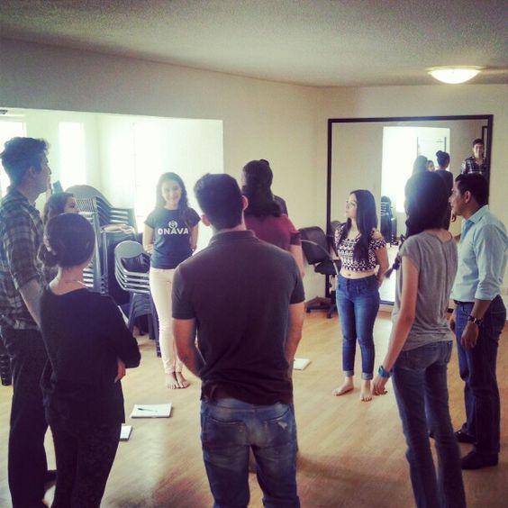 En clase de improvisacion.... #onava #models www.onava.com.mx