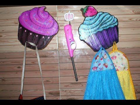 أسهل عليقات شماعات للمطبخ على شكل كب كيك Youtube Desserts Cake Food
