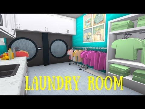 Roblox Bloxburg Laundry Room Tutorial Youtube Laundry Room