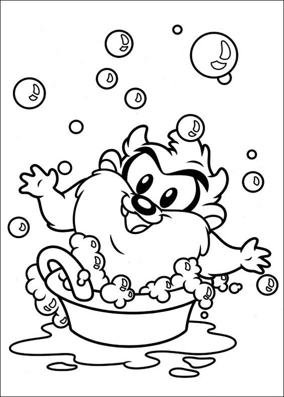 Baby Looney Tunes Ausmalbilder 6 | 1 | Pinterest | Coloring pages ...