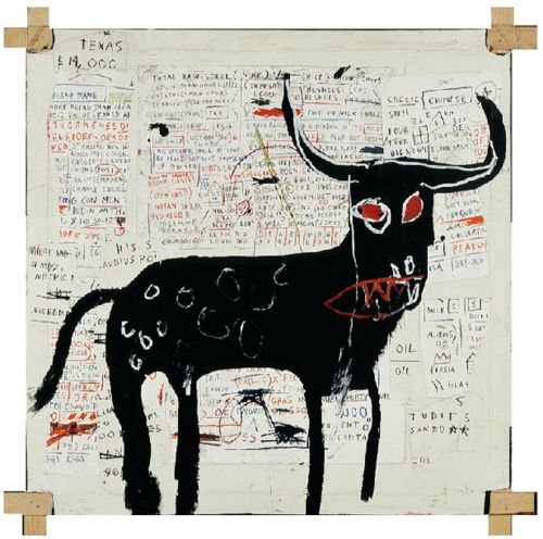 Jean-Michel Basquiat (December 22, 1960 – August 12, 1988) was an American artist.  He began as a graffiti artist in New York City in the late 1970s and evolved into a Neo-expressionist painter during the 1980s: