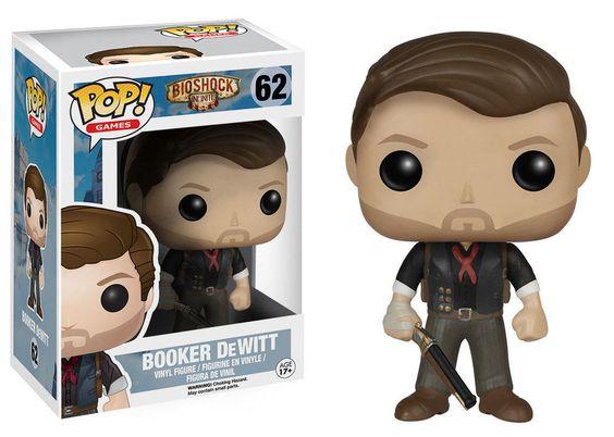 BioShock POP! Games Vinyl Figur Booker DeWitt 9 cm