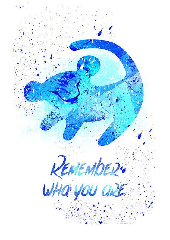 Erinnern Sie König der Löwen wer du bist Disney Fan von PuellaNest