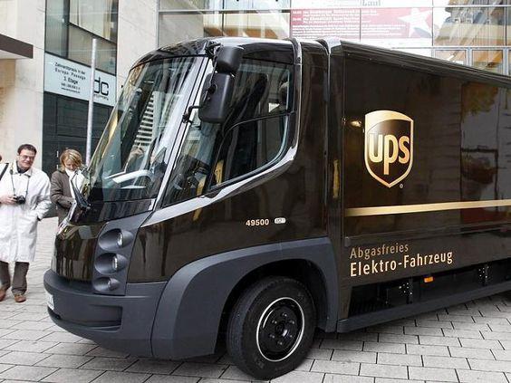 UPS Elektrofahrzeug