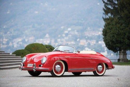 Porsche 356, otro carro de mis sueños, no pido más!
