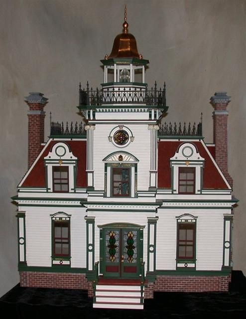 doll house...would also make a really pretty real home