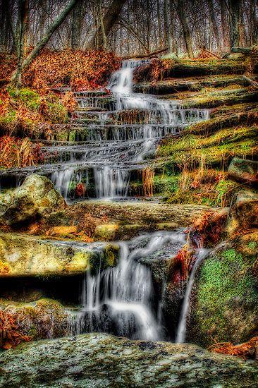 """Run-off, Buffalo River National Park, Arkansas  """"Swift Flow"""" By Scott Ward"""