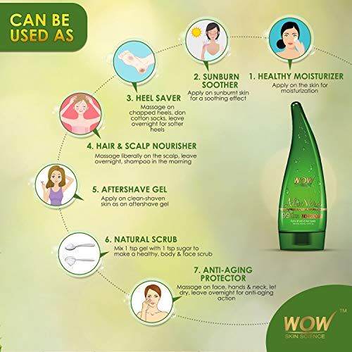 WOW 99% Pure Aloe Vera Gel | Beauty Cleansers and Face Wash Face Skin Care  Cleansing Creams and Milks | Best news and d… | Gel, Cleanse skincare, Pure aloe  vera gel