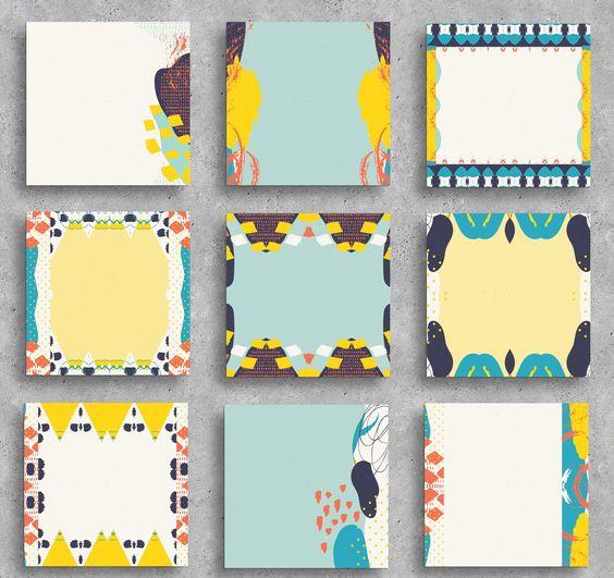Instant Download Square Clipart Free Spirit Design Digital Etsy Doodle Images Instagram Post Template Clip Art