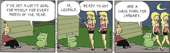 ❤ =^..^= ❤  Scary Gary Comic Strip, January 04, 2012 on GoComics.com