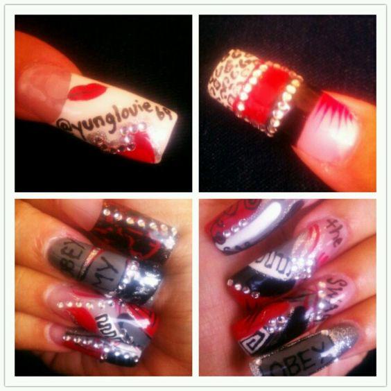 Personalized nail art