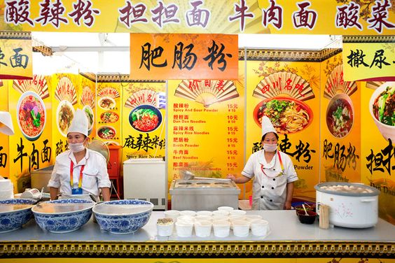 Chinese Fast Food, Anja Hitzenberger