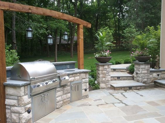 stone age manufacturing kitchen island outdoor living pinterest stone age stones and. Black Bedroom Furniture Sets. Home Design Ideas