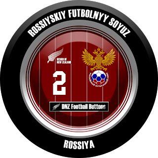 DNZ Football Buttons: Seleção da Rússia