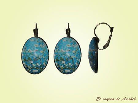 El Joyero de Anabel | www.eljoyerodeanabel.com | Pendientes con Cristal Ovalados.