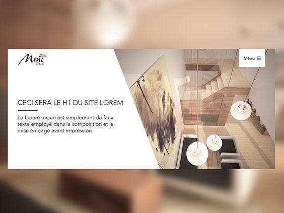 WIP home decoration website part 1  by karim nasri