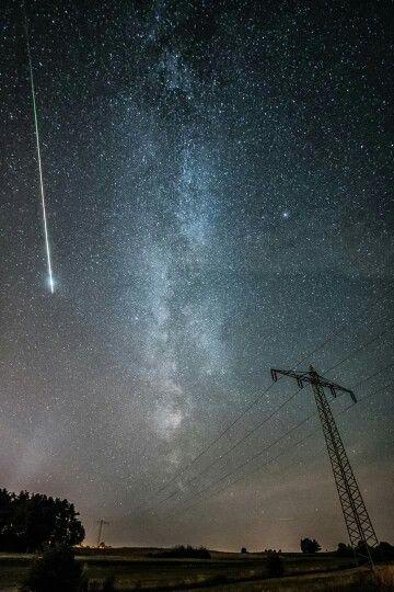 Sternschnuppen Nacht <3