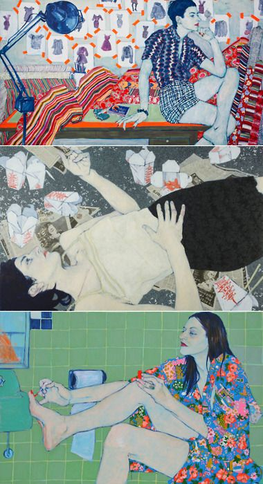 Current status: obsessing over Hope Gangloff's illustrations.  (via Elizabeth on Pinterest):