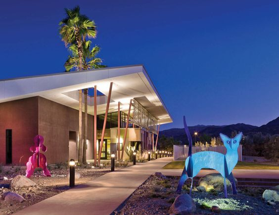 Palm Springs Animal Care Facility by Swatt | Miers Architects
