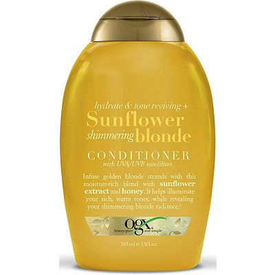 OGX Sunflower Shimmering Blonde Conditioner: