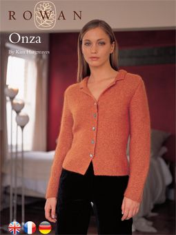 Onza Cardigan Free Knitting PAttern