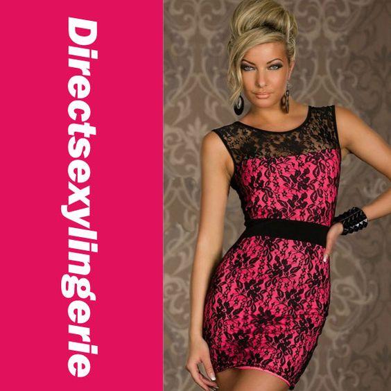 On sale 5 June Sensationelles Spitzen-Minikleid Mit Tranparenter Ruckenansicht Lace Dress Casual New 2015 Summer Party Club