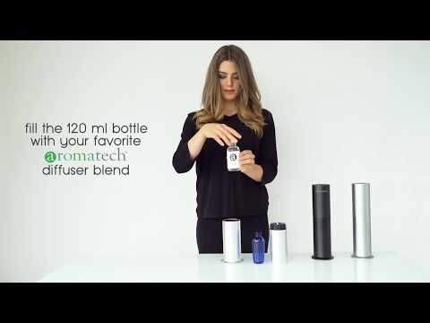 With The Aromini Diffusing Aroma In Your Home Is Easy It S Nebulizing Technology Is Silent And Won T Leav Fragrance Diffuser Essential Oil Fragrance Diffuser