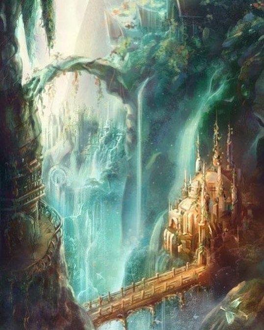 30+ Magic Fantasy World Art Pictures