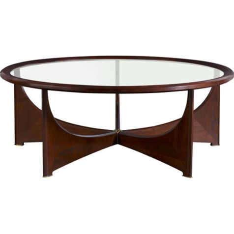 Oberon Cocktail Table By Barbara Barry 3651 Baker Furniture