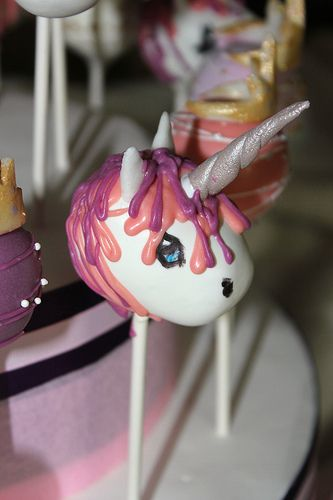 unicorn cake pops the world s catalog of ideas 8164