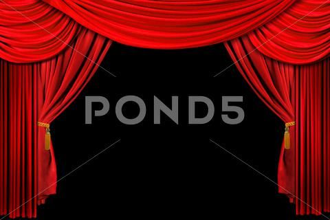 Red Draped Stage Background Stock Illustration Ad Stage Draped Red Illustration Drapes Curtains Stage Background Red Drapes