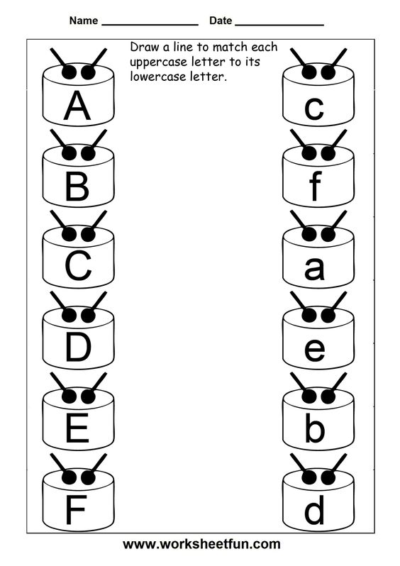 Number Names Worksheets english worksheets for kindergarten 2 : English, 3 three and Alphabet on Pinterest